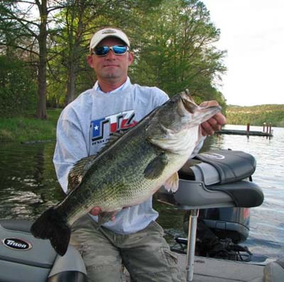 Bass from o h ivie puts west texas in lunker quest for Lake conroe bass fishing