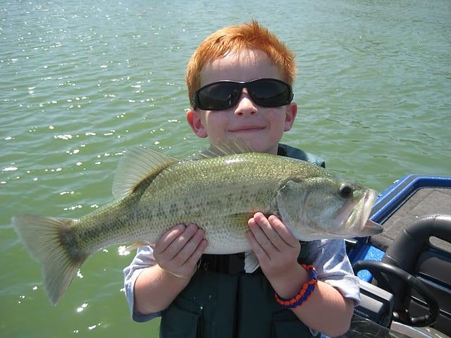 Labor day on lake lavon texas hunting fishing lone for Lake lavon fishing