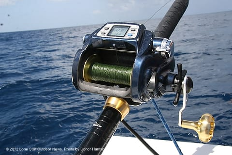 Fishing the deep electric reels get baits down fish up for Used fishing gear for sale