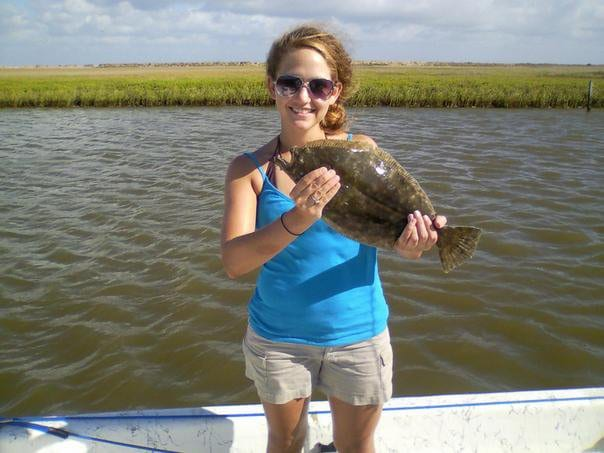 Chocolate bay producing but anglers looking forward to for Flounder fishing galveston