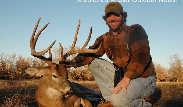 THE PAYOFF: After three trips to Greystone Castle, LSON's Conor Harrison finally connected on this great buck. Photo by LSON.