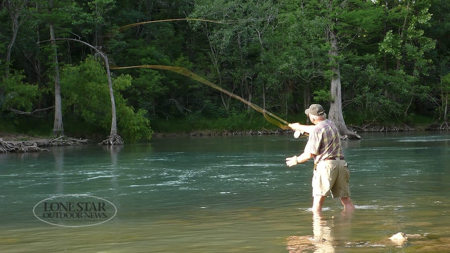 Fly fishing classes coming to texas freshwater fisheries for Tpwd fishing reports