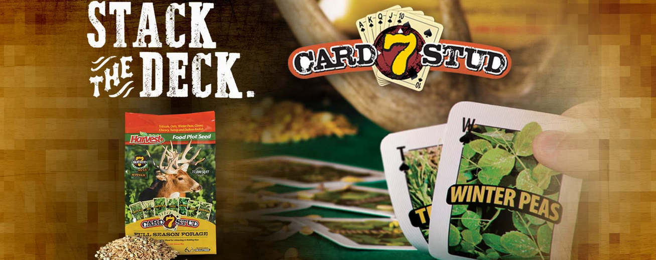 Stack The Deck With Evolved Harvest 7 Card Stud Seed Blend Texas Hunting Fishing Lone Star Outdoor News