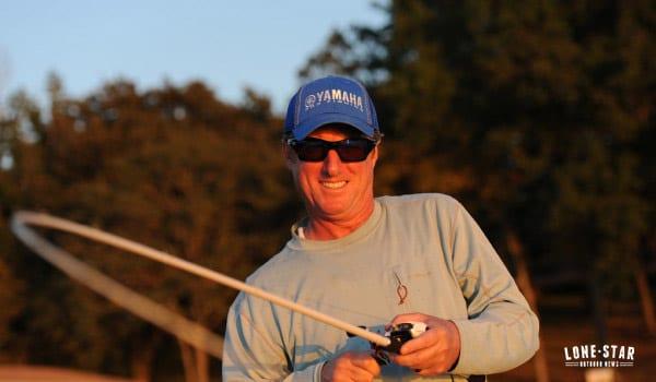 largemouth bass fishing Lake Athens east texas Kelly Jordon Yamaha BASS pro