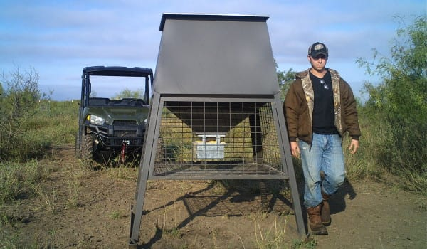 whitetail camera trap Wilson 186 Ranch South Texas 707 blind