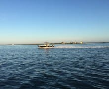 Speckled trout fishing baffin bay