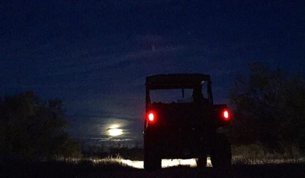 Dat full moon tho. Stopped me in my tracks tonight.