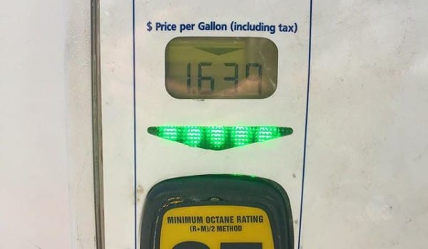 Profits are improving with gas prices like this. Go hunt. Go fish.
