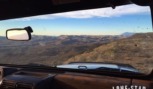 The office view today. The rut has started but the big mule deer are hiding from our view.