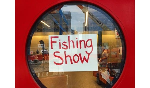 Houston Fishing Show now though Sunday. Go by and see our loyal customers.