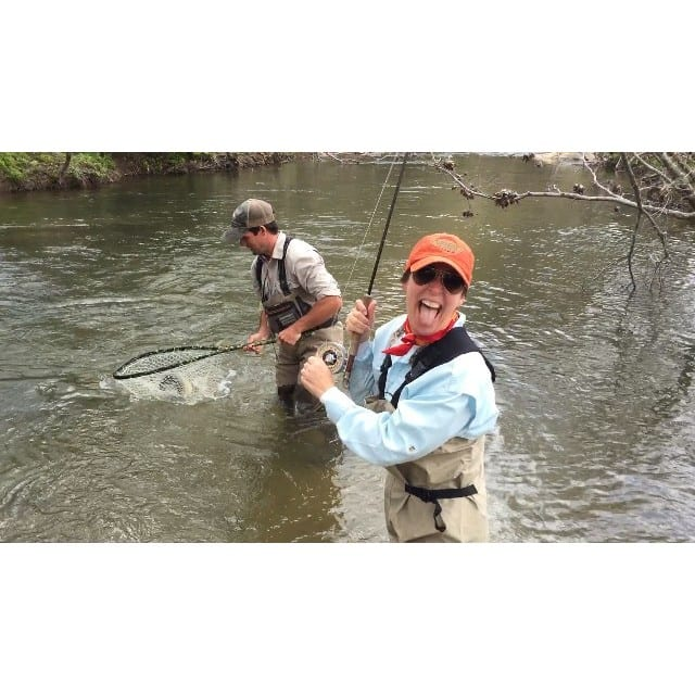 Catch 39 n em twice is always nice guide kory chastain2 for Fly fishing blue ridge ga