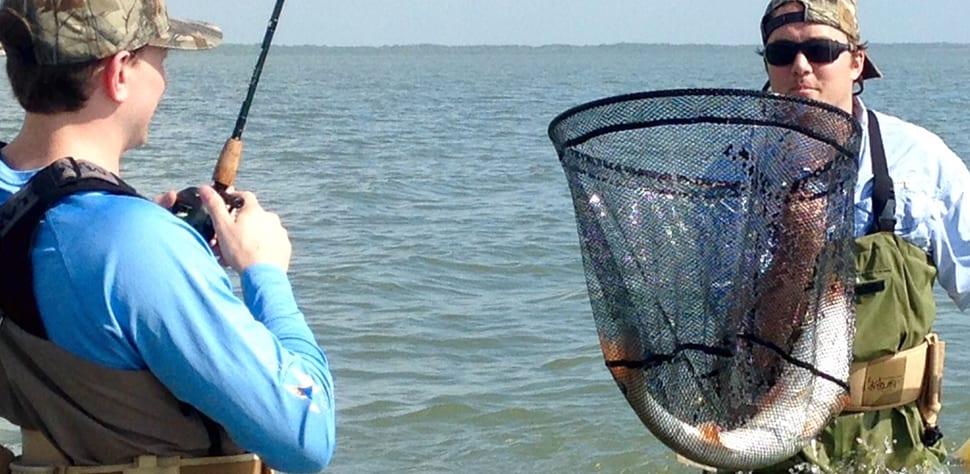 Texas fishing report tides high seadrift fishing still for Texas fishing reports