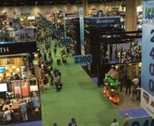 This is ICAST. Enjoyed it, good catching up with everyone. Look for the product spotlights in the paper soon.