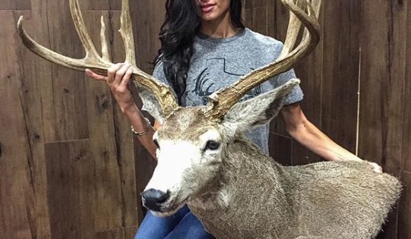 My taxidermist is hotter than yours. Thanks Kristen @kristen_ottea Come visit us at the Texas Trophy Hunter Extravaganza.