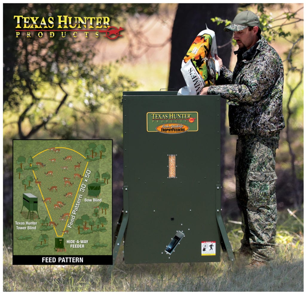 New Hide-A-Way Stand & Fill Directional Feeders –