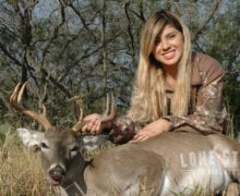 Kara Deolloz of Austin hunts with LSONF
