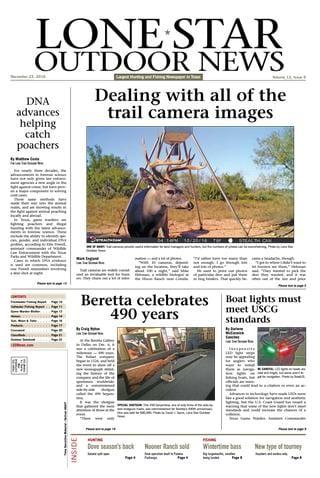 Lone Star Outdoor News - December 25, 2015