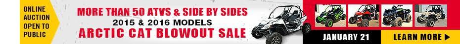 Acrtic Cat Blowout Sale