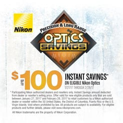 Nikon New Years Savings Hunt
