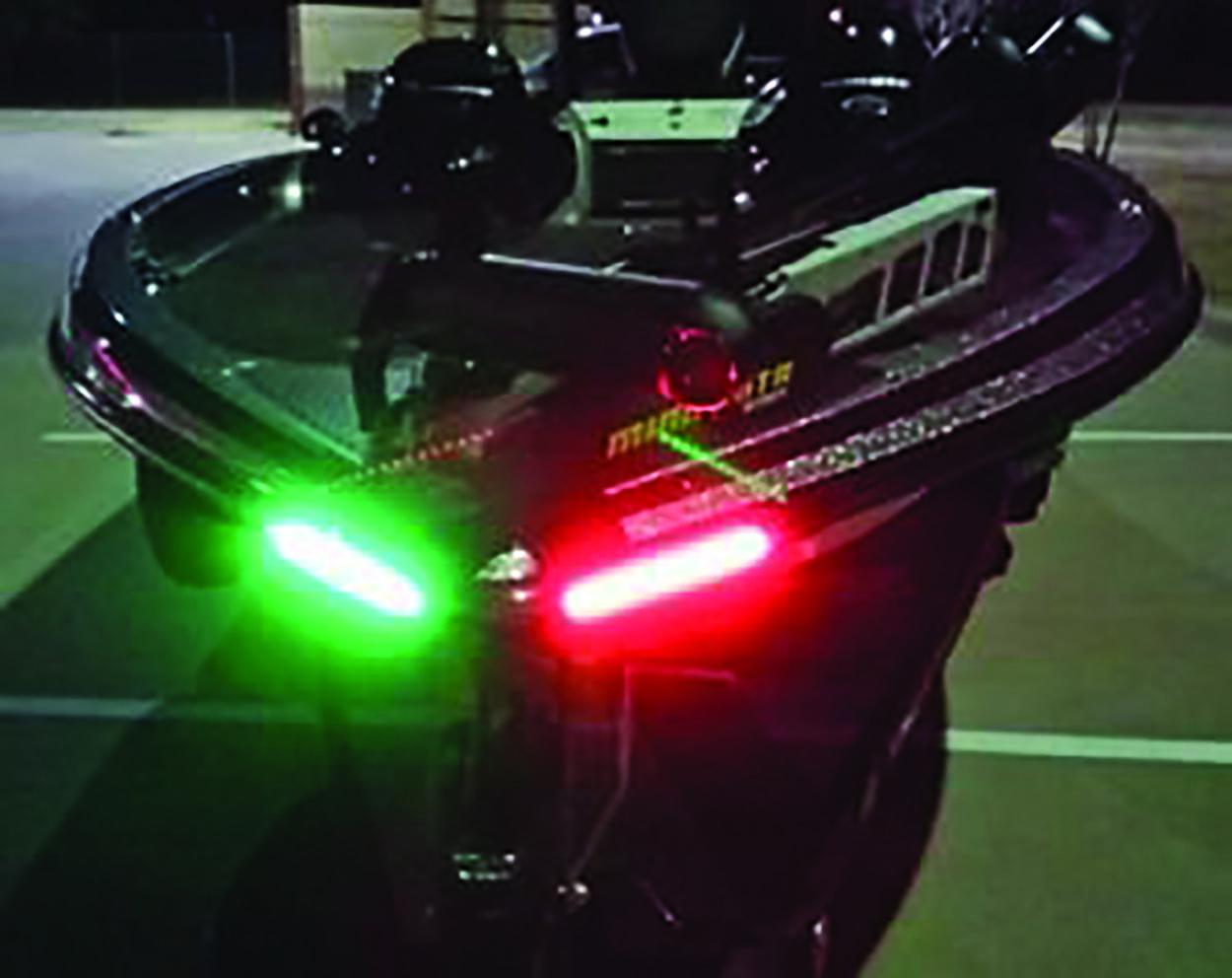 Boat light strips must meet uscg standards texas hunting for Fishing boat lights