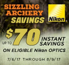 Nikon Sizzling Archery Savings