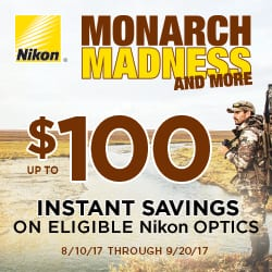 Nikon Monarch Madness Hunt