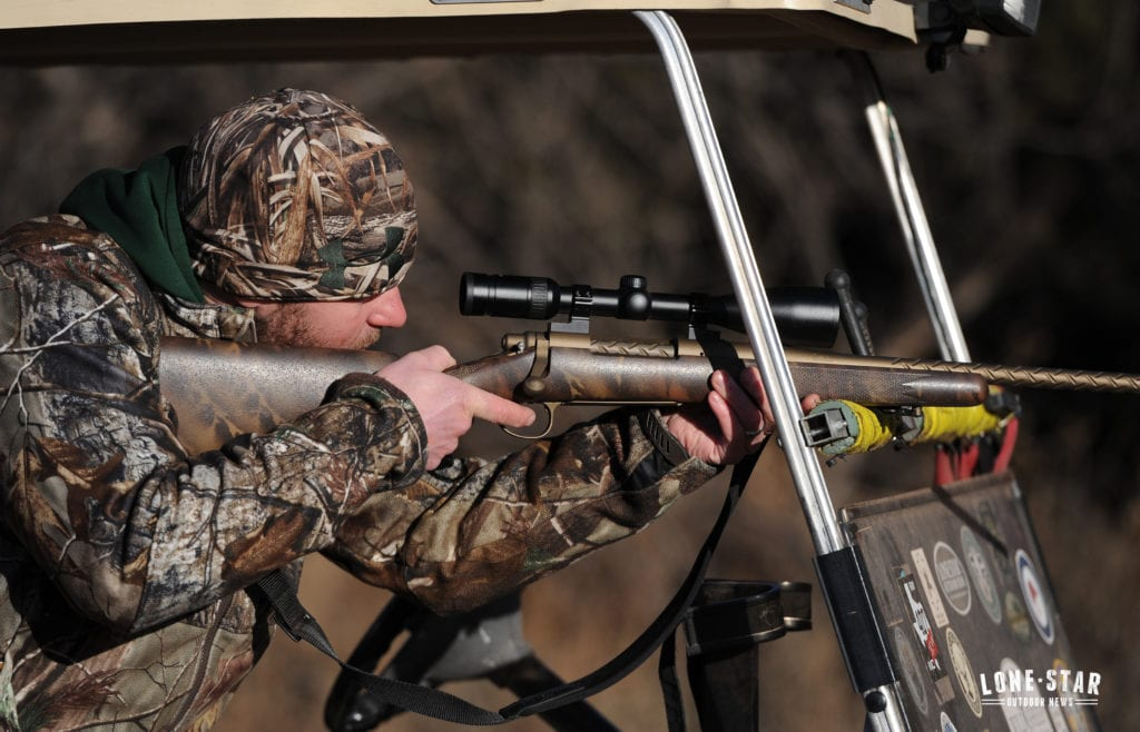 Hunter Gets His Buck Lsonf Hunt Pays Off
