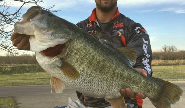13 pound bass caught from twin buttes texas hunting for 13 fishing tx
