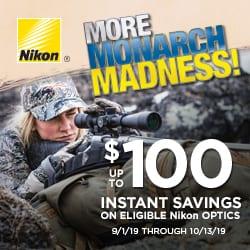 More Monarch Madness - Nikon $100